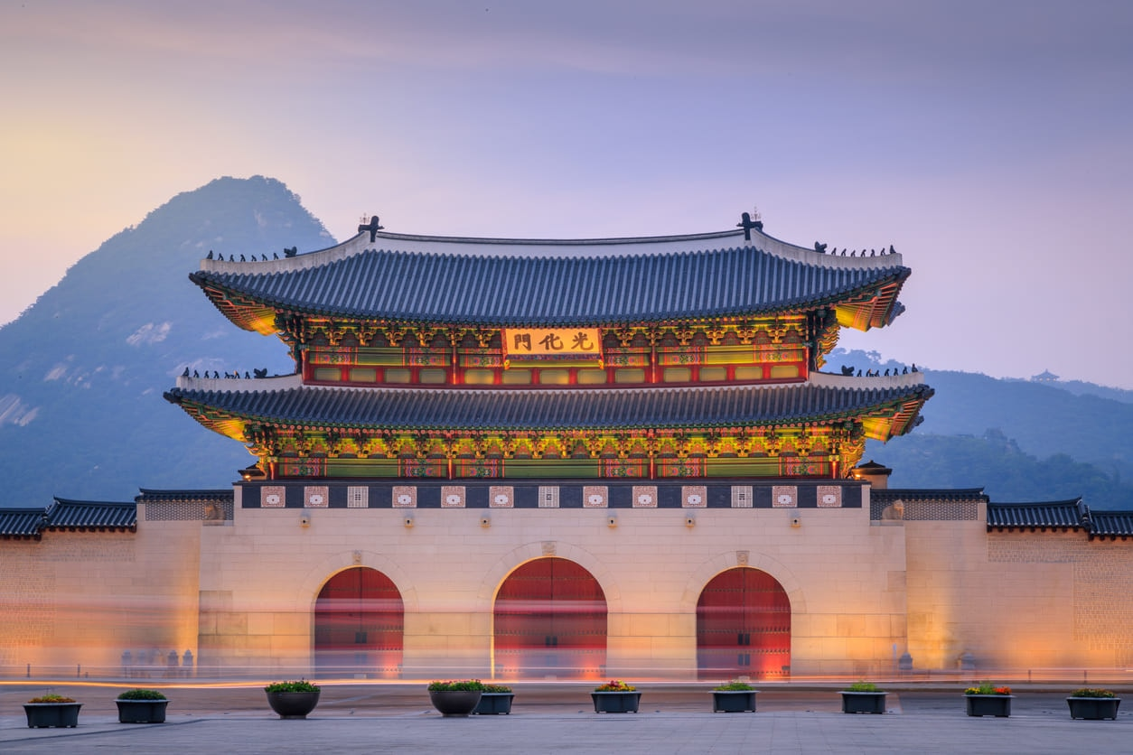 Южная Корея 航空券